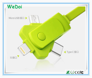 New Swivel Mobile Phone Cable with Fast Speed and Low Cost (WY-CA37) pictures & photos