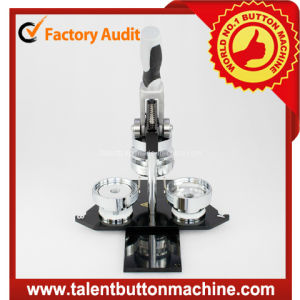 Button Machine with Different Shape Interchangeable Molds Mode No. Sdhp-N3 pictures & photos