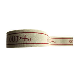 Custom High Quality Jacquard Elastic Tape pictures & photos
