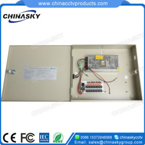 12VDC 10AMP CCTV Camera Power Supply with Battery Backup (12VDC10A9P/B) pictures & photos