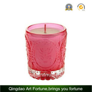 Metal Lid Filled Glass Candle for Home Decor Supplier pictures & photos