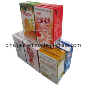 Packaging Material Paper for Uht Milk (200BASE) pictures & photos