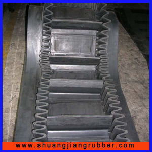 Cleats Steep Angle Sidewall Conveyor Belting pictures & photos