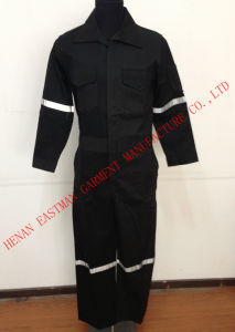 Flame Proof and Anti Static Hi-Vis Reflective Protective Coverall and Workwear
