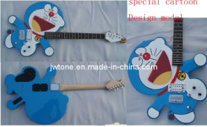 Cartoon Cat Design Popular Quality Electric Guitar pictures & photos