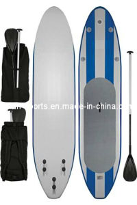 Blue Inflatable Yoga Sup Surfboard of Waterboard, Stand up Paddle Board Epoxy pictures & photos