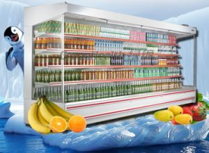 Supermarket Muilt Deck Open Chiller