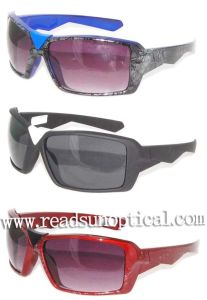 Popular Plastic Sunglasses with Fashion Design (SP52334) pictures & photos