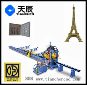 CNC Steel Tower Processing System for Punching Marking and Shearing pictures & photos
