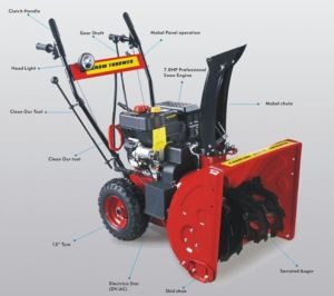 7HP Gas Powered Snow Blower (JH-SN07-70)