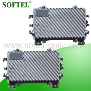 Bi-Directional Weatherproof Trunk Amplifier 4dB Input AGC for CATV Network pictures & photos