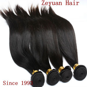 Silky Straight Remy Brazilianhuman Hair Weave (ZYWEFT-01) pictures & photos