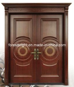 Oak Composite Wood Door (CD-0338)