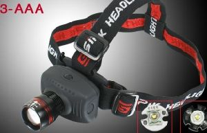 AAA Batteries CREE Q5 LED 180 Lumens Head Lamp pictures & photos