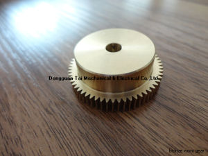 Worm Gear for Transmission, Brass Worm pictures & photos
