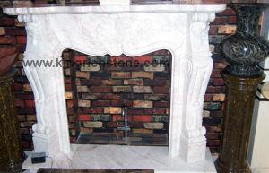 Granite Sandstone Fireplace Mantles