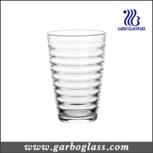 12oz Water Wave Grained Drinking Glass Cup (GB03448012) pictures & photos