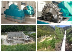 Small Hydro Power Plant / Water Turbine for Hydro Power Project pictures & photos
