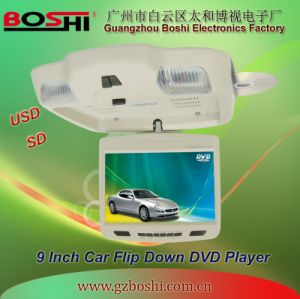 CE, FCC, RoHS Approved 9inch Ceiling Mount DVD Player (SF-9500MD)
