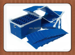 China Quality PP Plastic Hollow Folding Box with Colored Manufacturer pictures & photos