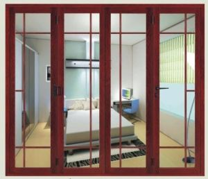 Double Glazing Sliding Door with Grill Design (pH-8849) pictures & photos