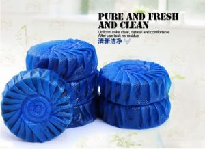 Toss Blue Block for Toilet Water Tank 7days Quality