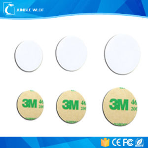 13.56MHz ISO14443A Self Adhesive Ntag213 NFC Sticker pictures & photos