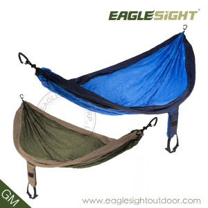 Parachute Nylon Hammock with Compression Straps Since 1998