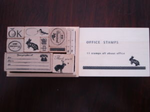 Wooden Stamp Set (SD-YZ0062)