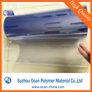 500mm Wide 0.3mm Clear Rigid PVC Film Roll for Blister Packing pictures & photos