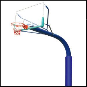 Rainbow Arm Ground Basketball Stand / Post / Backstop (XP2026)