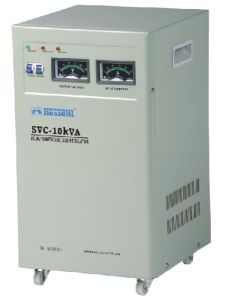 SVC Series Single Phase/Three Phase AC Voltage Stabilizer/Voltage Regulator (AVR) pictures & photos