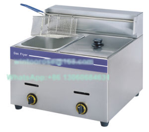Top-Rated High Quality Kitchen equipment Stainless Steel Deep Gas Fryer pictures & photos