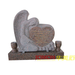 America Style Heart Angel Tombstone (XMJ-AM08)
