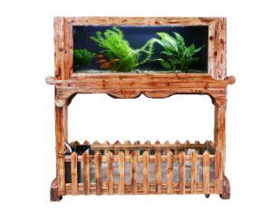 Acrylic Aquarium Into Log Screen, Screen Fish Tank (05m*0.55m*1m)