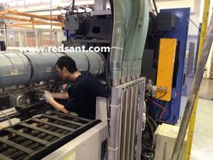 Aerogel Insulation Blanket for Niigata 850t Injection Molding Machine for Energy Saving pictures & photos