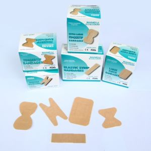 High Elastic Fabric Wound Plaster First Aid Plaster Bandaids pictures & photos