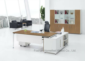 New Design Wooden and Steel Director Office Executive Desk (HF-WD021) pictures & photos