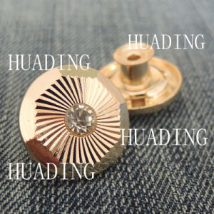 Unique Fashion Special Alloy Material Jeans Button for Garment (HD1099-15) pictures & photos