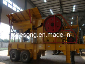 Protable Jaw Crusher/Mobile Jaw Crusher/Track Mobile Crushing Plant pictures & photos
