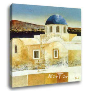 Landscape Oil Painting - Mediterranean Sea (DB111)