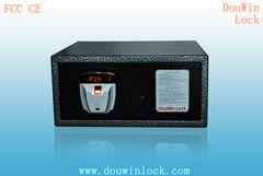 2014 New Design Hotel Room Fingerprint Safe Deposit Box pictures & photos