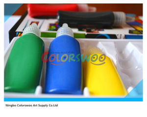 5*22ml Common Color Glass Paint for Students and Kids (CLW06036) pictures & photos