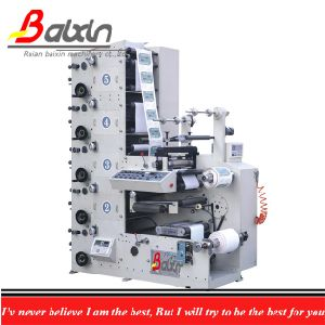 Small Paper Label Flexographic Printing Machine pictures & photos