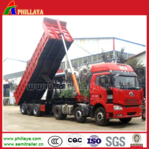 Front Lifting Heavy Dump Truck Trailer / Dumper with 50-60t Capacity pictures & photos
