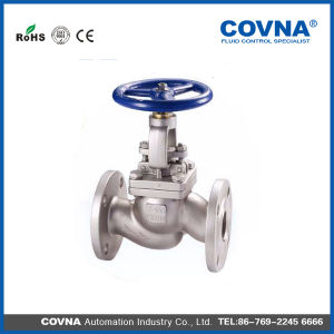 Steam Duplex Steel Globe Valve pictures & photos
