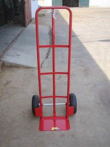 Heavy Duty China Manufacture of Hand Trolley pictures & photos