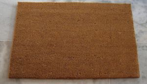 Made in China Plain Blank Brown 100% Natural Cocoa Cocos Koko Welcome Coco Coir Coconut Fiber Doormats pictures & photos