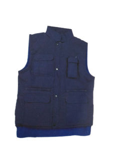 Padded Safety Waterproof Working Vest with Multi Pockets (HS-V001)