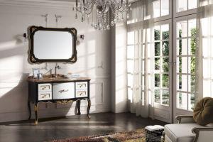 Thailand a Grand Wood, Antique Vanity/Bathroom Cabinet (FS-B623)